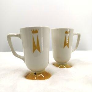 Homer Laughlin China Irish Coffee Mug Made in USA
